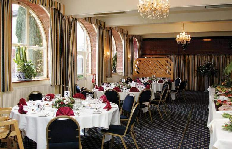 The Best Western Lord Haldon - Restaurant - 3