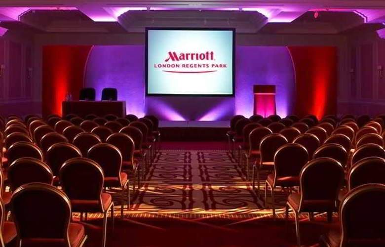 Marriott Regents Park - Conference - 20