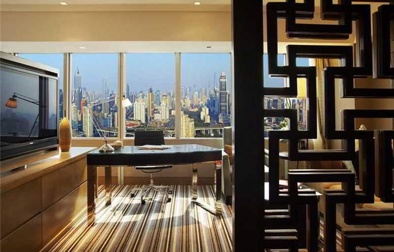 Jin Jiang Tower - Terrace - 10