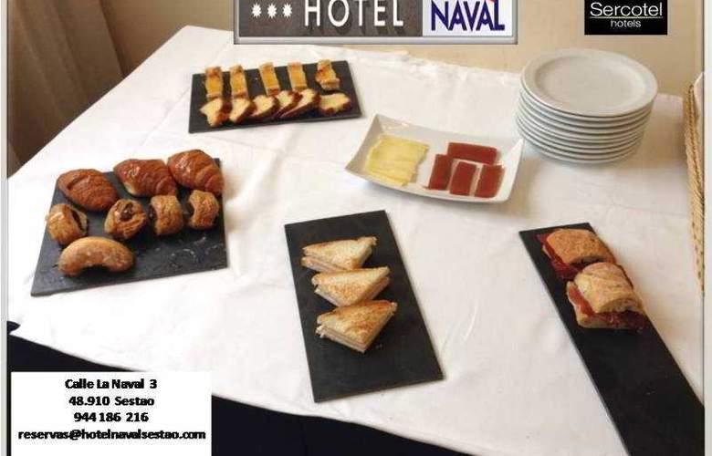 Sercotel Naval - Restaurant - 20