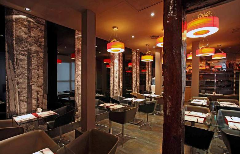 Petit Palace Tres Cruces - Restaurant - 24