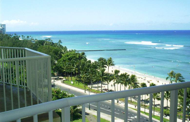 Aqua Park Shore Waikiki - Terrace - 9