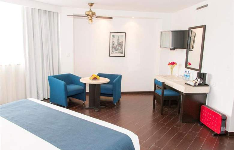 Best Western Real de Puebla - Room - 40