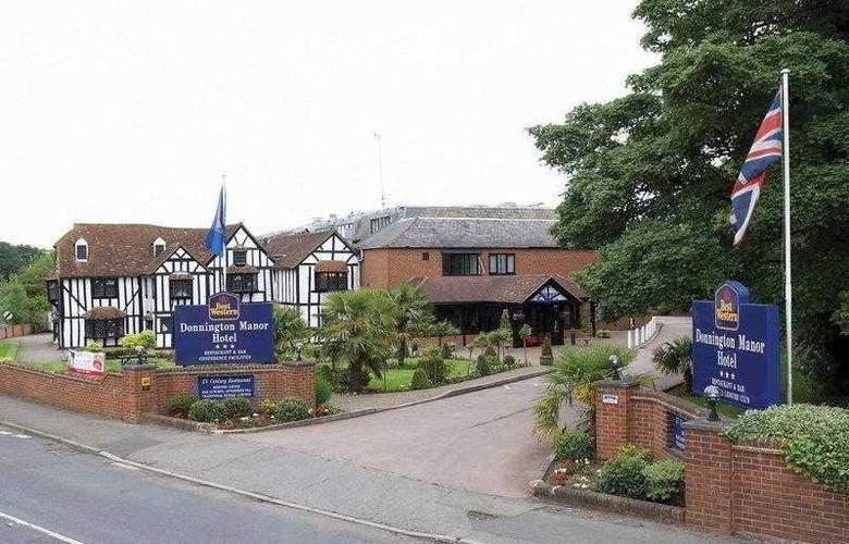 Best Western Donnington Manor - Hotel - 8