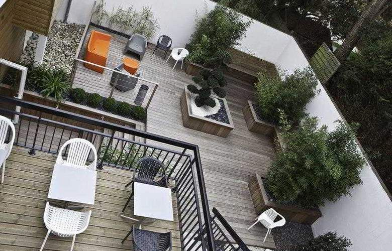 Best Western Garden And Spa La Baule - Terrace - 45