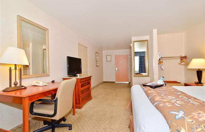 Best Western Plus High Sierra Hotel - Room - 125