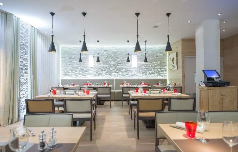 L'Aigle des Neiges - Restaurant - 11