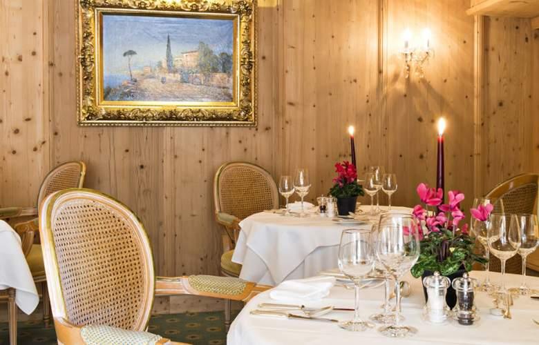 Quadratscha Swiss Quality Hotel - Restaurant - 11