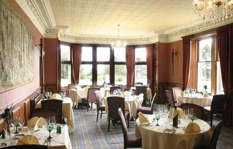 Mansfield Castle Hotel - Restaurant - 5