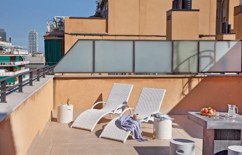 AinB Sagrada Familia Hotel Barcelona - Terrace - 7