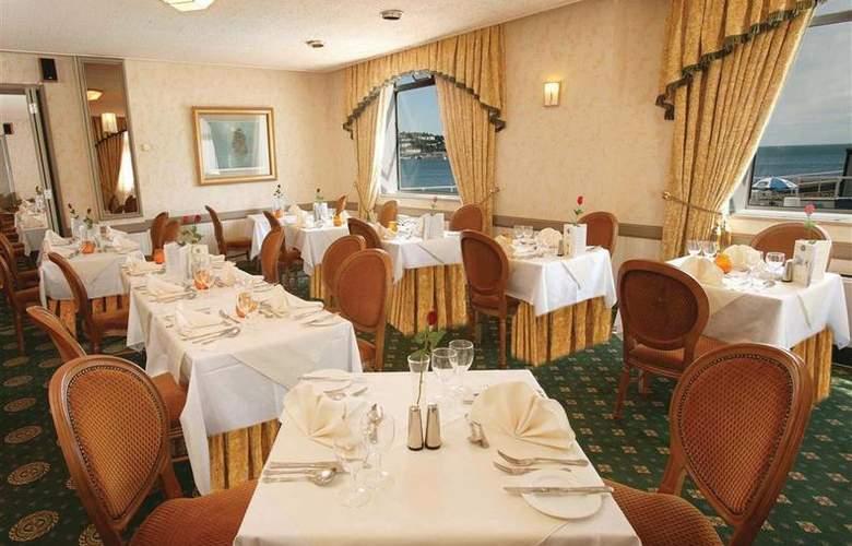 Best Western Livermead Cliff Hotel - Restaurant - 16