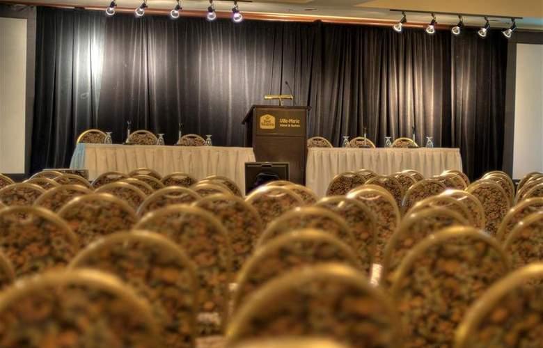 Best Western Ville-Marie Hotel & Suites - Conference - 40