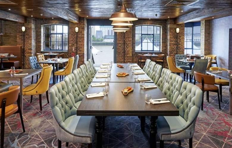 Hilton London Docklands Riverside - Restaurant - 53