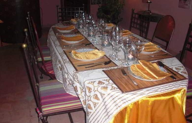 Riad Sadaka - Restaurant - 11
