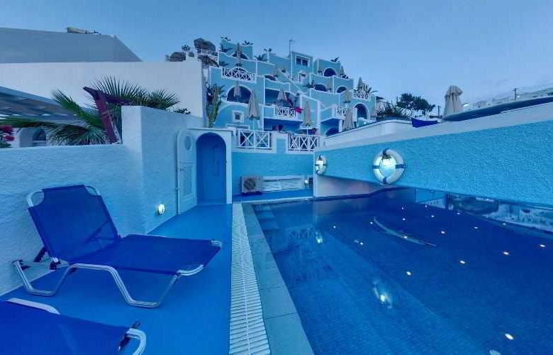 Kafieris Blue Apartments - Pool - 4