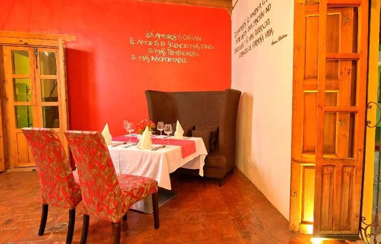 Casa del Alma Hotel Boutique and Spa - Restaurant - 9
