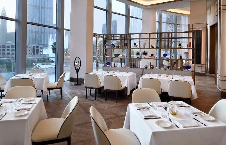 The Address Downtown Dubai - Restaurant - 20