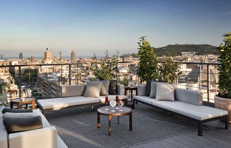 NH Collection Barcelona Gran Hotel Calderón - Terrace - 8