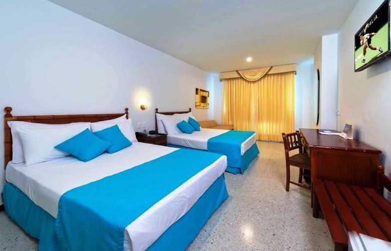 Cartagena Plaza Executive - Room - 8
