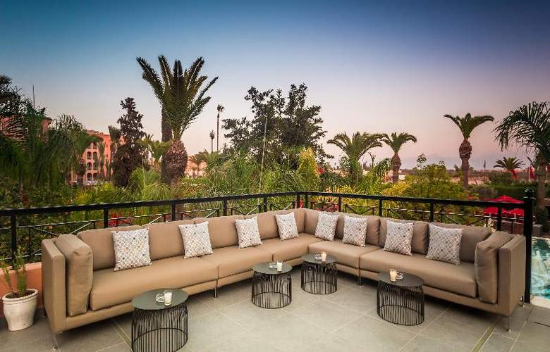 Sofitel Marrakech Lounge and Spa - Terrace - 37