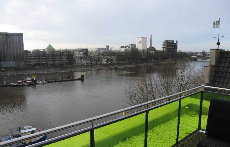 Designhotel ÜberFluss Bremen - Terrace - 7
