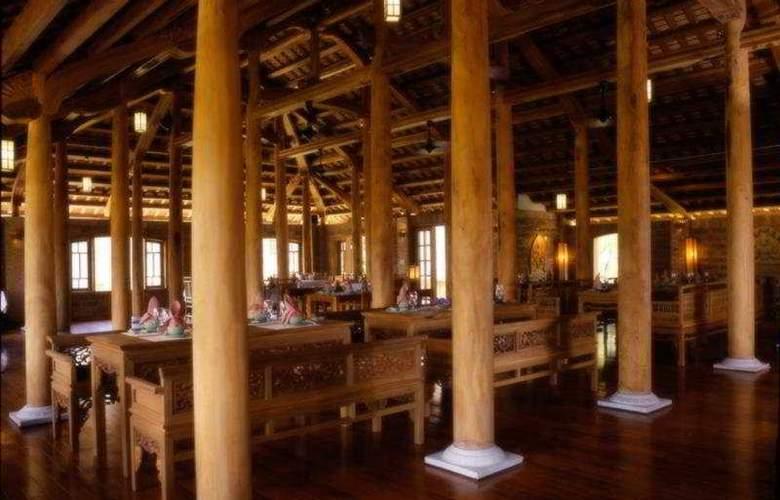 Pilgrimage Village, Hue - boutique resort & spa - Restaurant - 11