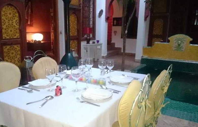 Riad Sadaka - Restaurant - 12