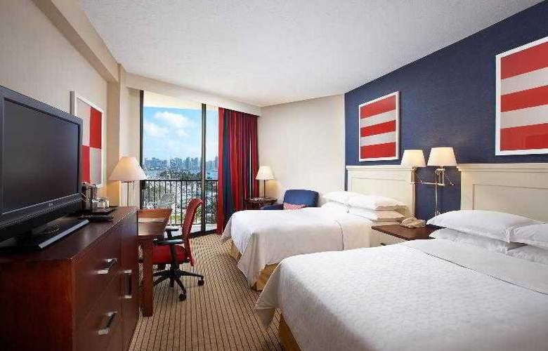Sheraton San Diego Hotel & Marina - Room - 35