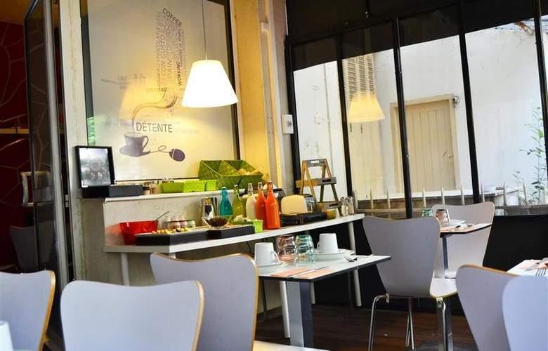 Best Western Hotel Le Montparnasse - Restaurant - 89