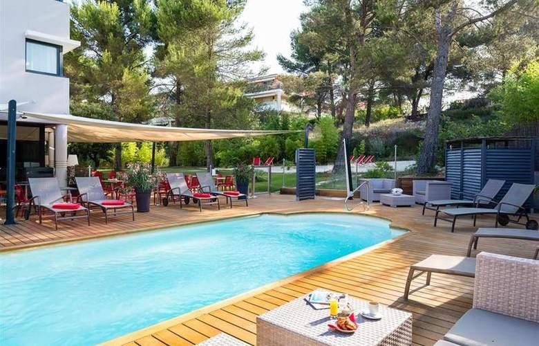 Best Western Hotel De L´Arbois - Pool - 20