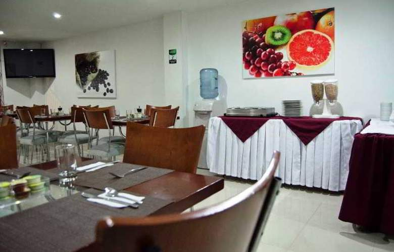 Apartahotel 122 Plaza - Restaurant - 17