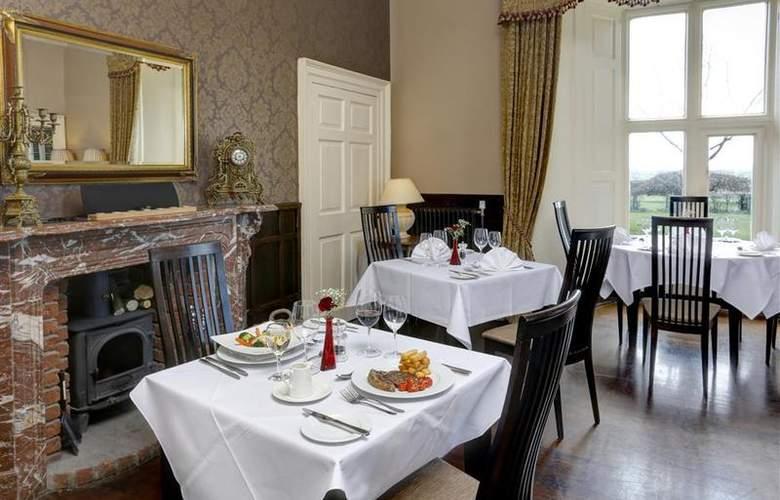 Best Western Walworth Castle Hotel - Restaurant - 84