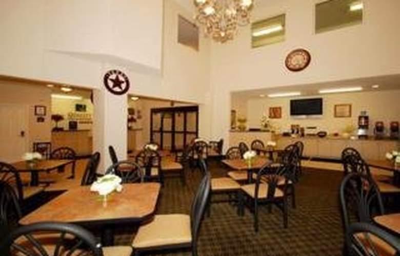 Quality Inn & Suites Bandera Pointe - Restaurant - 4