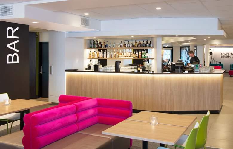 Thon Hotel Bergen Airport - Bar - 2