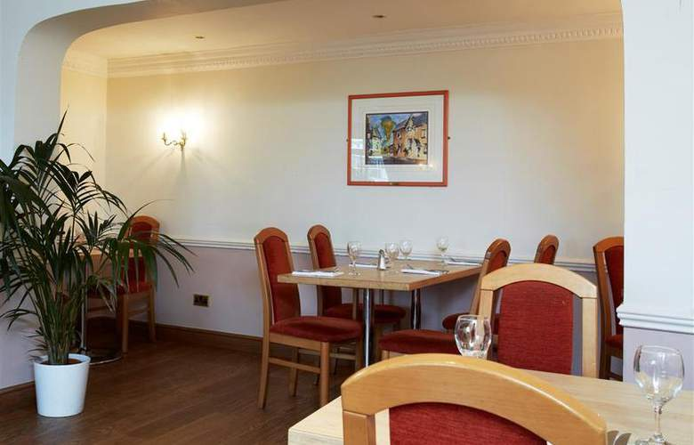 Best Western Consort Hotel - Restaurant - 95