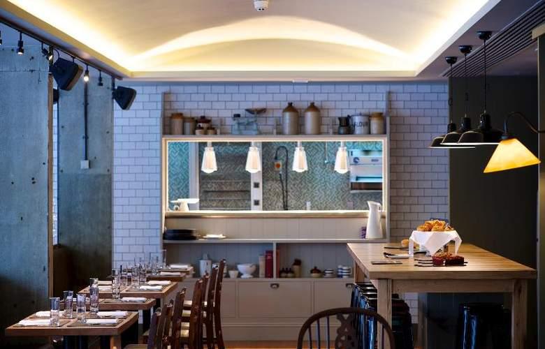 Bermondsey Square Hotel - Restaurant - 9