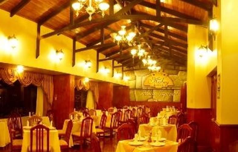 Mabey Cusco Palacio Imperial - Restaurant - 6
