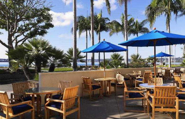 Sheraton San Diego Hotel & Marina - Terrace - 57