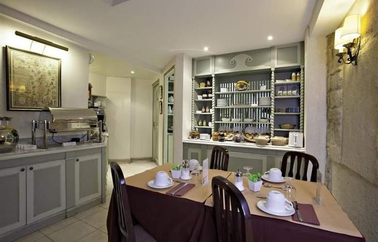 Best Western AuxDucs Bourgogne - Restaurant - 29