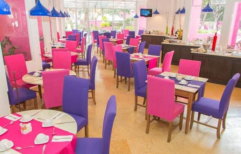 Best Western Real de Puebla - Restaurant - 85