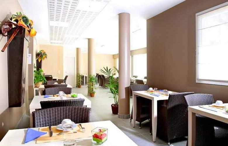 Appart'City Bordeaux Aéroport Saint Jean d'Illac - Restaurant - 6