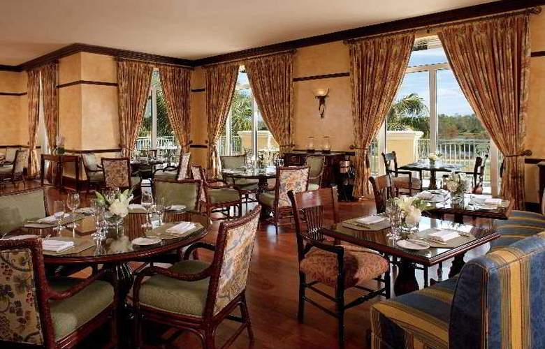 The Ritz-Carlton Golf Resort, Naples - Restaurant - 3