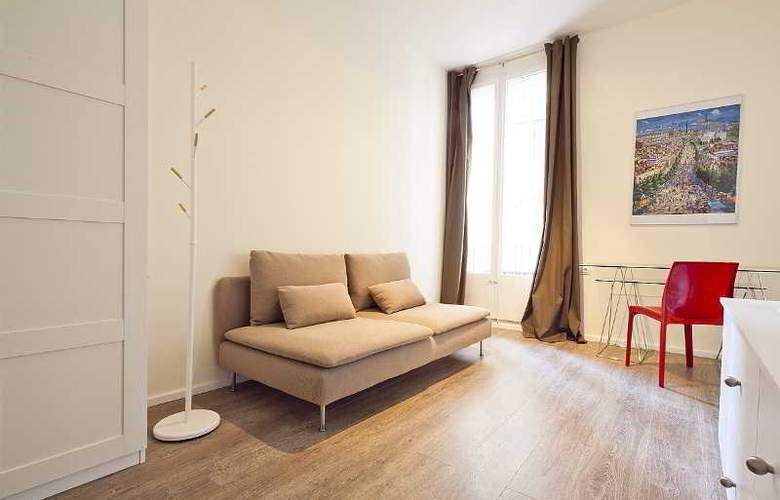 Aspasios 42 Rambla Catalunya Suites - Room - 20