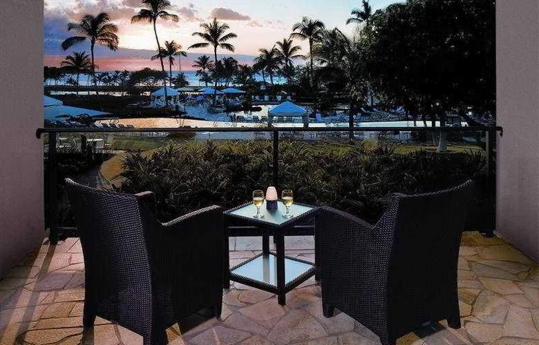 Waikoloa Beach Marriott Resort & Spa - Terrace - 5