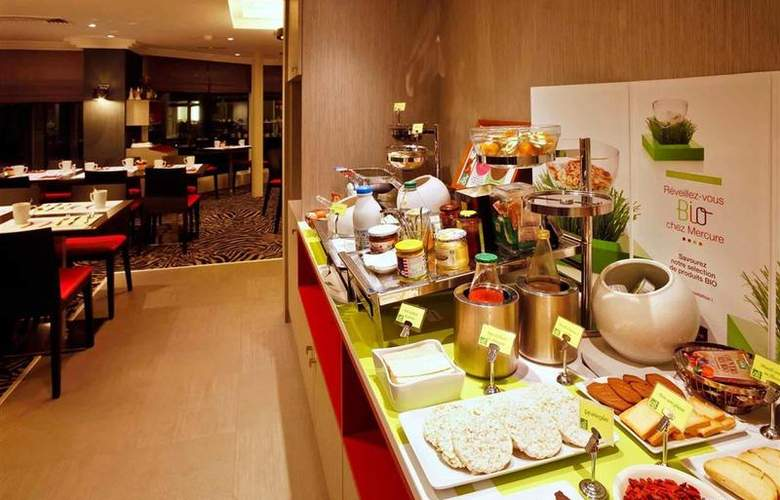 Mercure Grand Hotel Grenoble President - Restaurant - 68