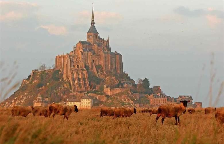 Mercure Mont Saint Michel - Hotel - 44