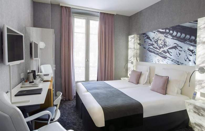 Best Western Premier Marais Grands Boulevards - Room - 2