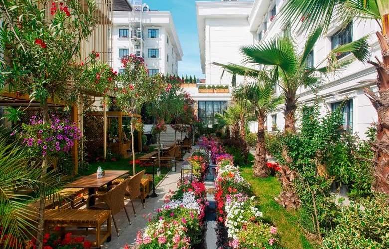 Sura Hagia Sophia Hotel - Terrace - 77