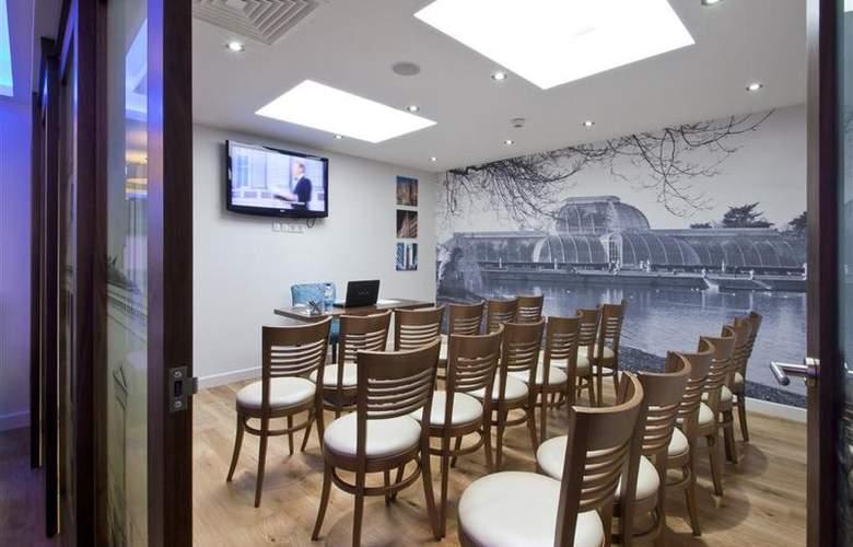 Best Western Plus Seraphine Hotel Hammersmith - Conference - 99