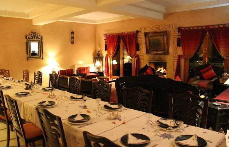 Riad Villa Des Trois Golfs - Restaurant - 2